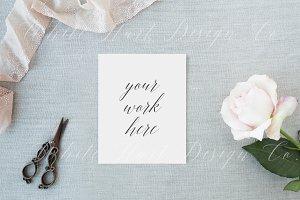 Wedding styled stock photo