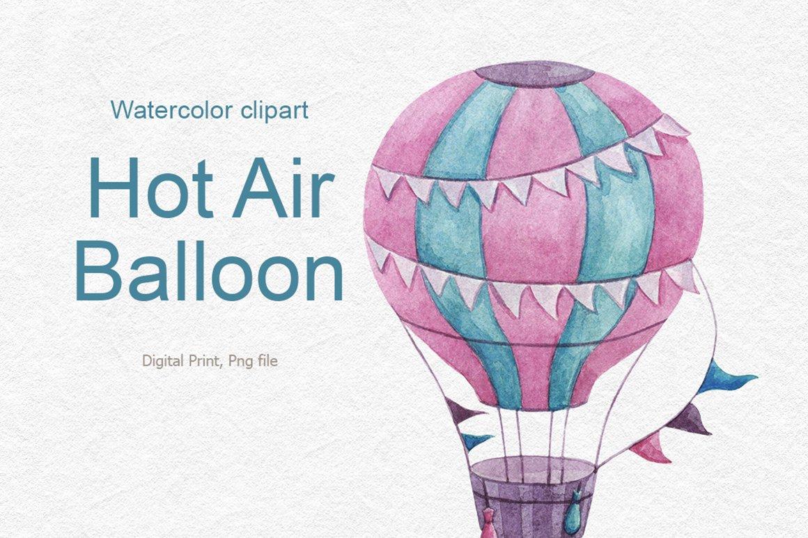 Patriotic Clipart Hot Air Balloon - Hot Air Balloon Clipart Png,  Transparent Png - kindpng