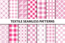 Textile seamless patterns.