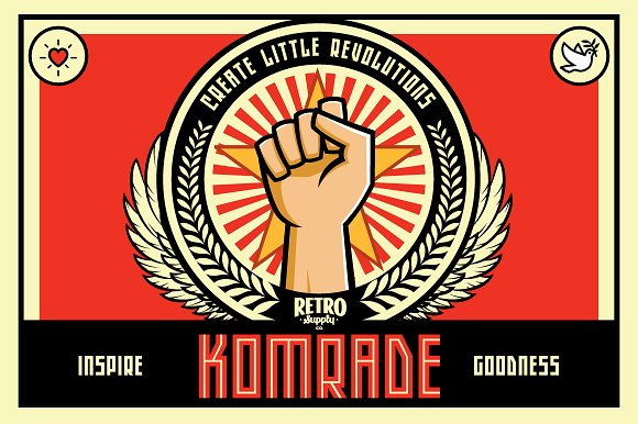 Komrade Font