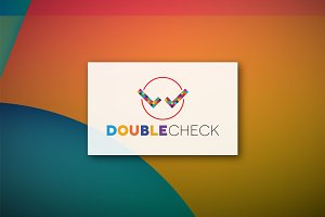 [68% off] Double Check - Logo Design
