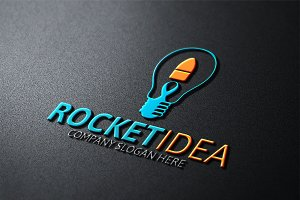 Rocket Idea Logo