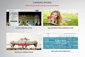 Landing Pages – One Page Template