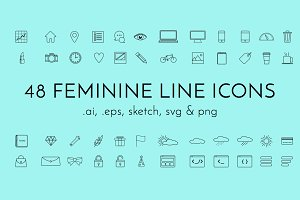 Femicon - Line Icon Pack