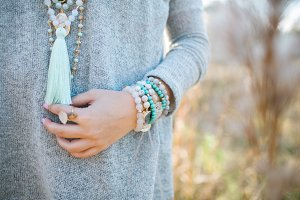 Spring Bracelets and Necklaces