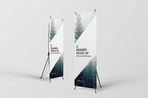 X Banner Mock-Up