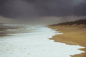 Summer Beach Storm