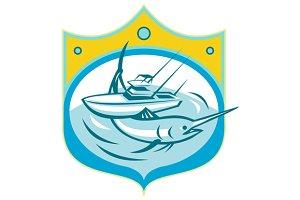Blue Marlin charter Fishing Boat Ret