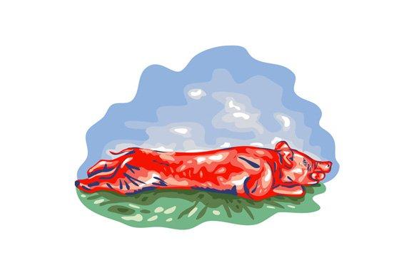 Lechon Roast Pig WPA