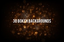 30 Bokeh Backgrounds Pack