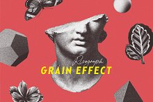Risograph Grain Effect for Photoshop by  in Add-Ons