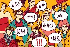 Foreigner misunderstanding people