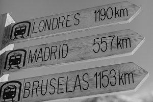 direction of cities