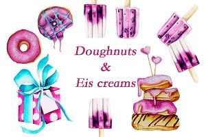 Doughnuts & Eis Cream