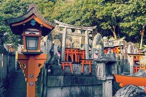 Famous Fushimi Inari Shrine
