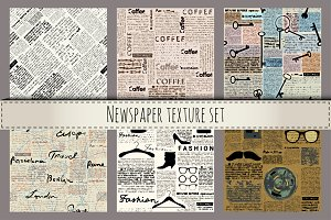 Imitation of newspapers texture.