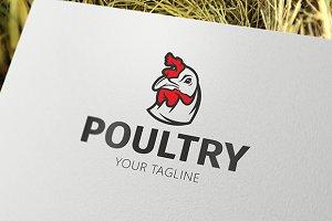 Poultry - Hen Logo