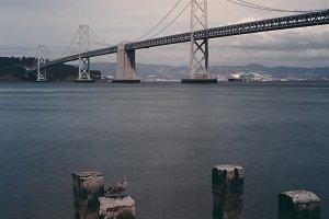 Vintage Bay Bridge