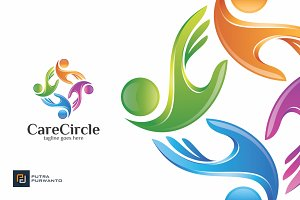 Care Circle - Logo Template