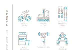Sports signs & symbols