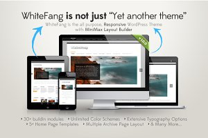 WhiteFang – Responsive WP Theme