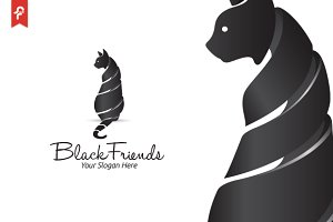 Black Friends Logo