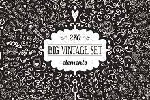 270 elements - Big Vintage Set
