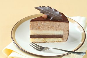 Chocolate Hazelnut Mousse Cake
