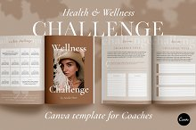 Wellness Challenge Creator | CANVA