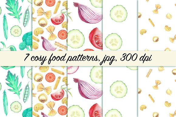 Cosy food patterns