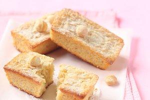 Blondies - White Chocolate Cakes