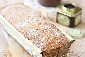 Earl Grey Loaf Cake