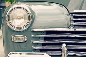 Vintage car light