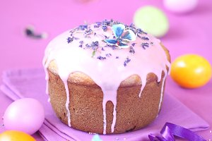 Kulich - Russian Easter Cake