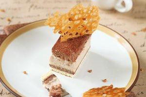 Peanut Butter Chocolate Mousse Bar