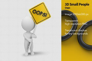 3D Small People - Oops