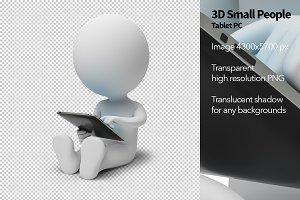 3D Small People - Tablet PC