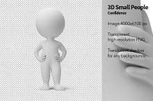 3D Small People - Confidence