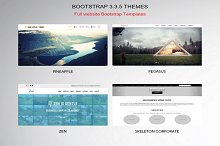 Bootstrap 3.3.5 Themes