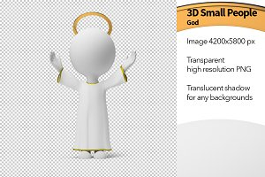 3D Small People - God