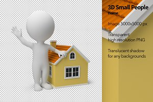 3D Small People - Home