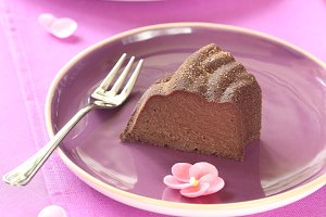 Baked Chocolate Pudding Cake