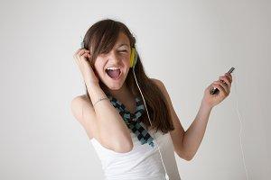 Singing and Dancing Teen