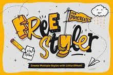 Freestyler - Brushes for Procreate