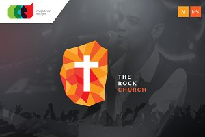 The Rock Church - Logo Template