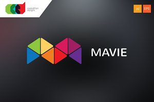 Mavie - Logo Template + Free BC