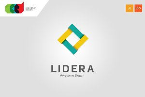 Lidera - Logo Template + Free BC