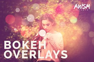 Bokeh - Photo Overlays