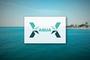 [68% off] Aqua - Logo Design