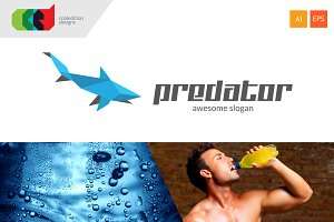 Predator - Logo Template + Free BC